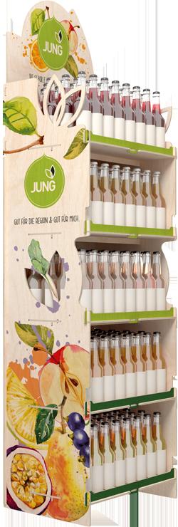Stojak reklamowy Jung