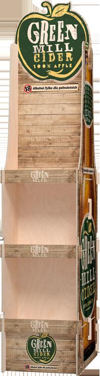 display ekologiczny na piwo